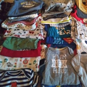 157 piece baby boy lot